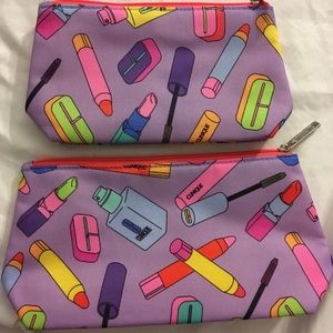 Clinique Cosmetic Bag Set of 2